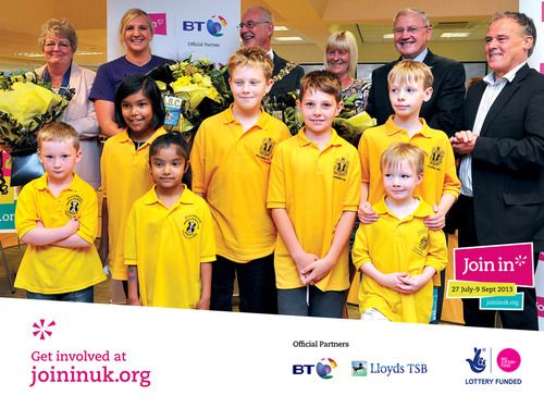Volunteers of all ages met the inspiring athlete Rebecca Adlington at our Join In Summer 2013 event in Stockport's Stalybridge swimming pool.
