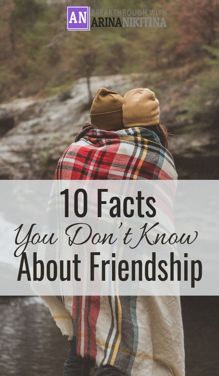 Friendship is a rare gift, we all know that. But there are a few things that you might not know about friendship.