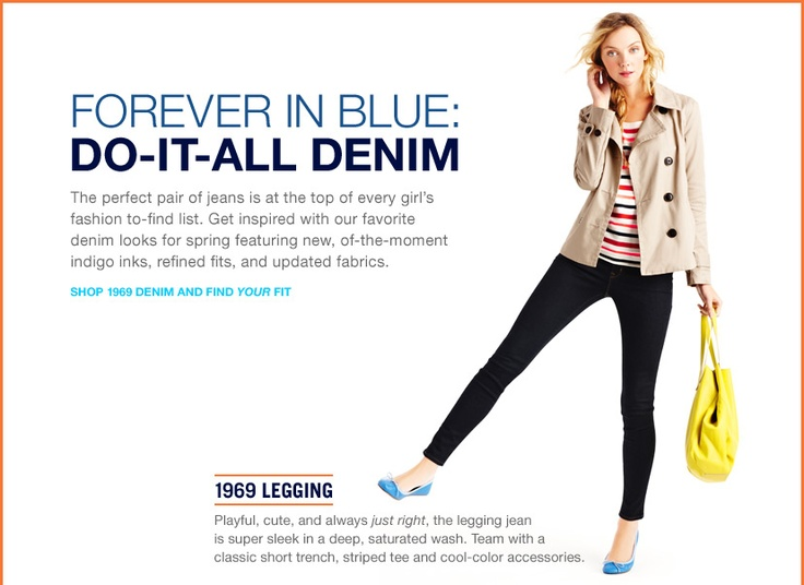 Gap!!  shop 1969 denim and find your fit.