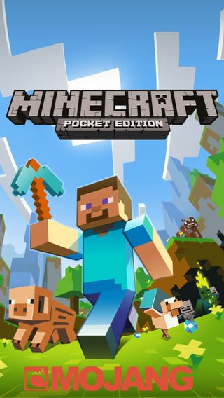 Minecraft.  Semantisk app: Her kan børnene spille sammen og bygge hele verdener i  firkantede kuber.