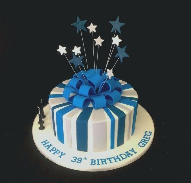 Simple Mens Birthday Cake Di 2020