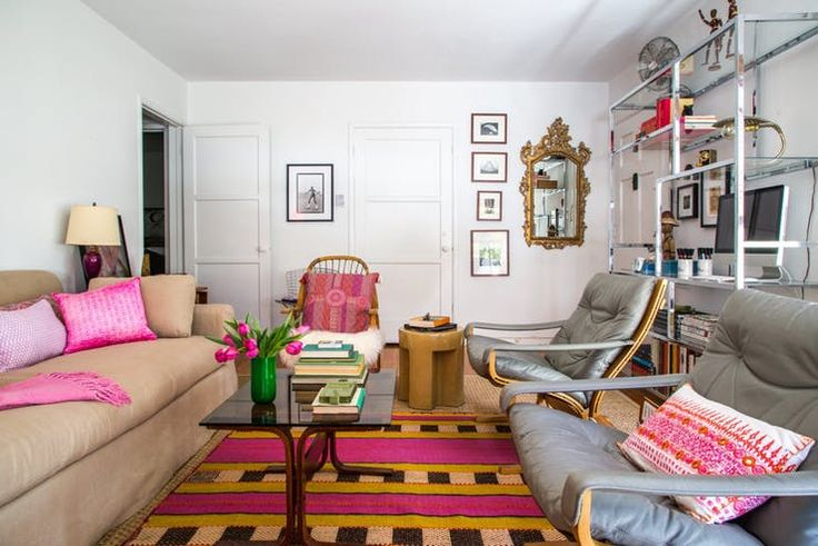 House Tour: Bright Colors & Textures in West Hollywood | Apartment Therapy
