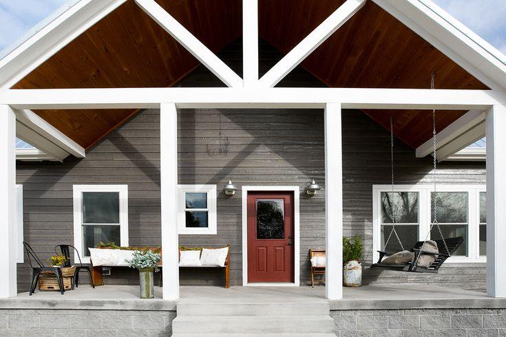 124 best riverwood cabin images on pinterest journals for Prefab shotgun house