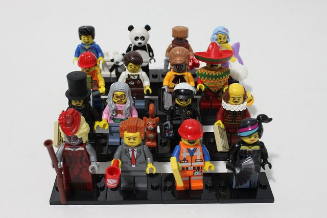 The #LEGO Movie Collectible Minifigures (71004) Review