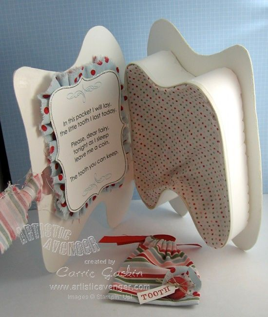 tooth fairy idea - maybe used V-day candy box, cut out tooth on paper: Fairies Ideas, Crafts Ideas, Fairies Kits, Kids Ideas, Dental Teeth, Tooth Fairies Boxes, Tooth Boxes, Tooth Fairy Box, Toothfairi Ideas