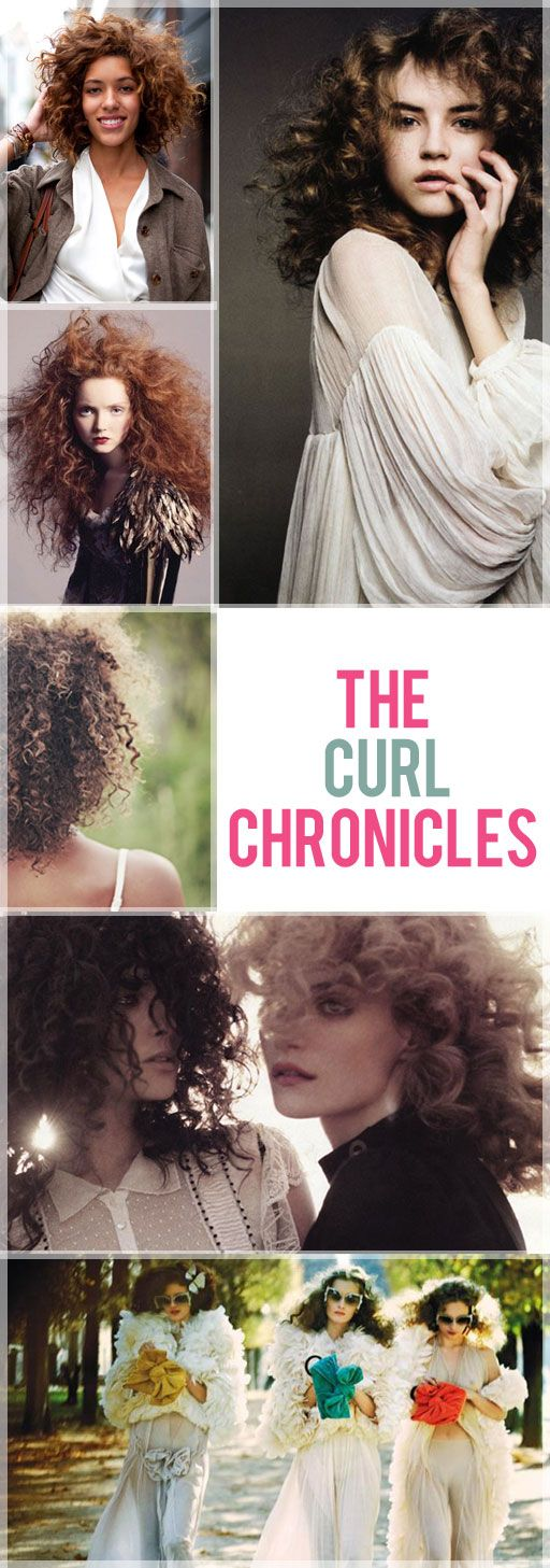 curl and wave