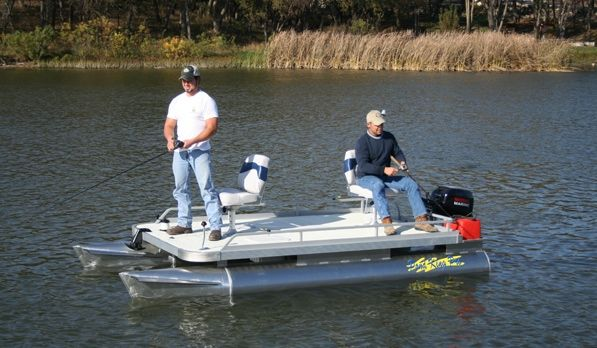 17 best images about pontoon boat on pinterest john for Pond fishing boats