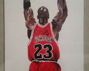 250cf8152fb5 Michael Jordan Wings - Chicago Bulls Painting