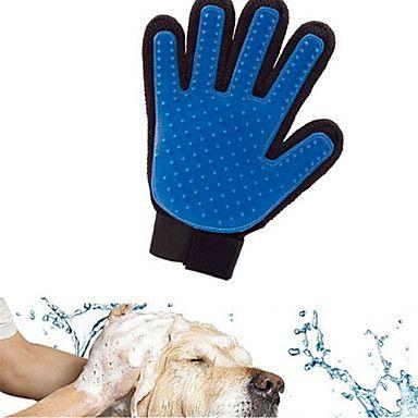 Gatto Cane Pulizia Set da bagno Animali domestici Prodotti per toelettatura Ompermeabile Traspirante Casual Blu del 5396425 2017 a €5.99