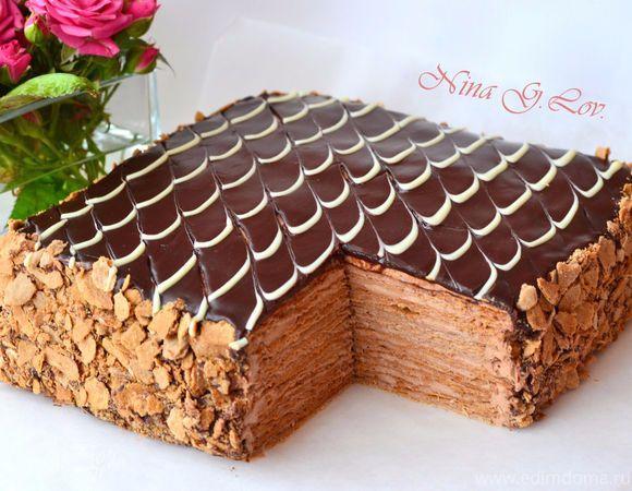 Пока есть вдохновение,делюсь с Вами еще одним вкусным и шоколадным рецептом. Уж очень любопытно было мне попробовать этот шоколадный тортик. Так как я полюбила тесто на сметане,то изменять ему очень…