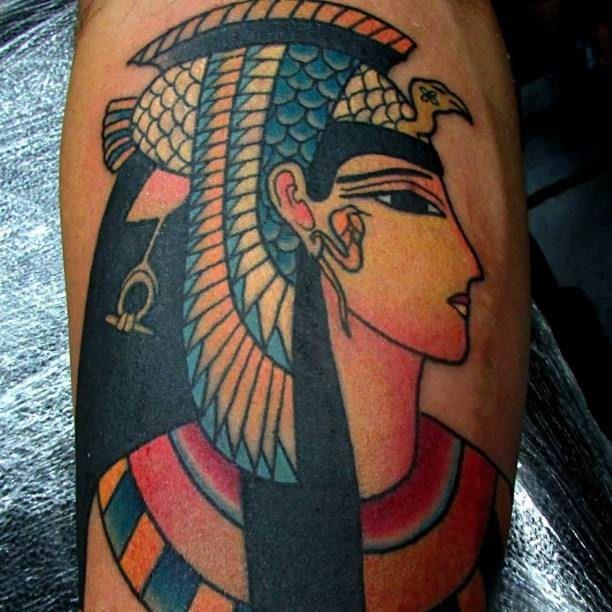 Pharaoh Tattoo Motive   #Tattoo, #Tattooed, #Tattoos