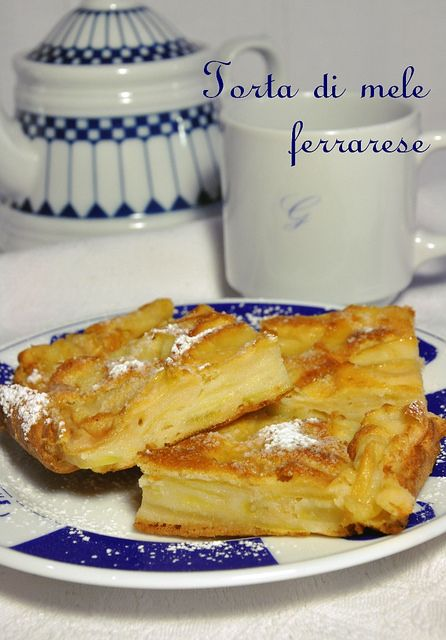 torta mele ferrarese by mammadaia, via Flickr