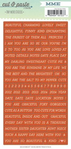 33 best images about Tiny words on Pinterest | Tim holtz ...