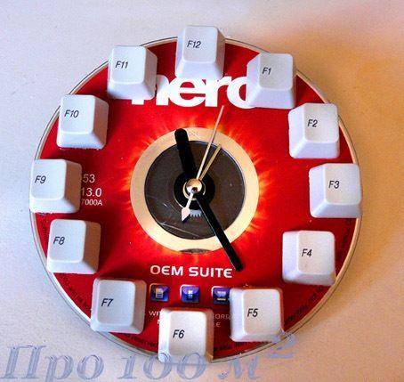 Cantinho craft da Nana: Reutilizando CDs -  Imagens para você imprimir e fazer seu relógio.