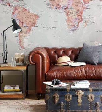 Man living room