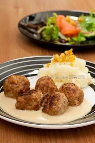 Swedish Meatballs with Cream Sauce (Ikea Recipe) | Swedish Meatball ...