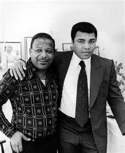 Jackie Robinson and Mohammad Ali