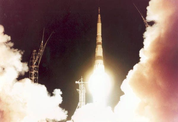 RUSSIAN SPACE FIRSTS ~ The fateful explosion of the massive N1 rocket in 1969, took with it the hopes of a Russian first moon landing.
