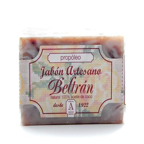 Jabón de Propóleo - Jabones Beltrán - 100gr, 2,50€ en Viva Nutrición - Antiinflamatorio y desinfectante para pieles muy sensibles y normales.