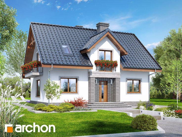 projekt Dom w lucernie 5 widok 1