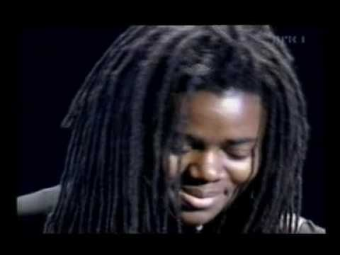Tracy Chapman: an amazing, humble, beautiful singer.  A quiet, elegantly earthy presence.  The song 'Baby Can I hold you' says so much in so few words.