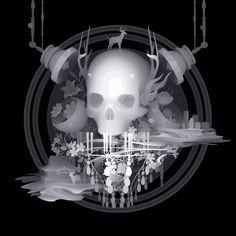 El arte fantasmal de Kazuki Takamatsu | OLDSKULL