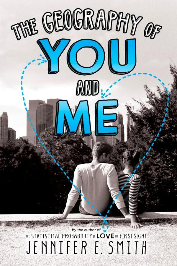 pb cover for The Geography of You & Me - Jennifer E. Smith