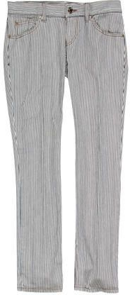 Gucci Pinstripe Straight-Leg Jeans
