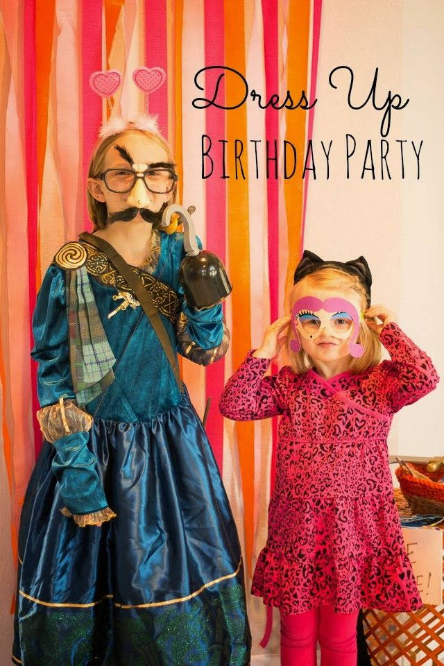 Dress Up Birthday Party