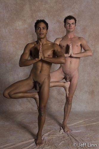 Men S Nude Yoga 21