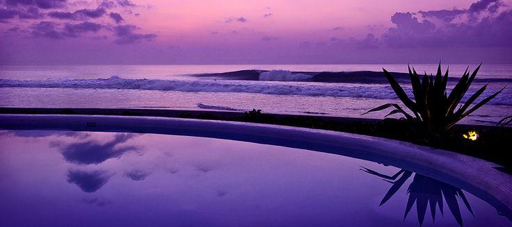 More sunset hues at Hotel Komune Bali
