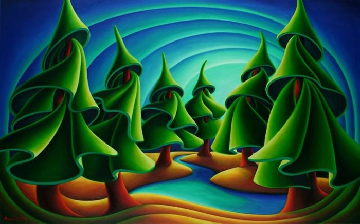 Vancouver artist Dana Irving