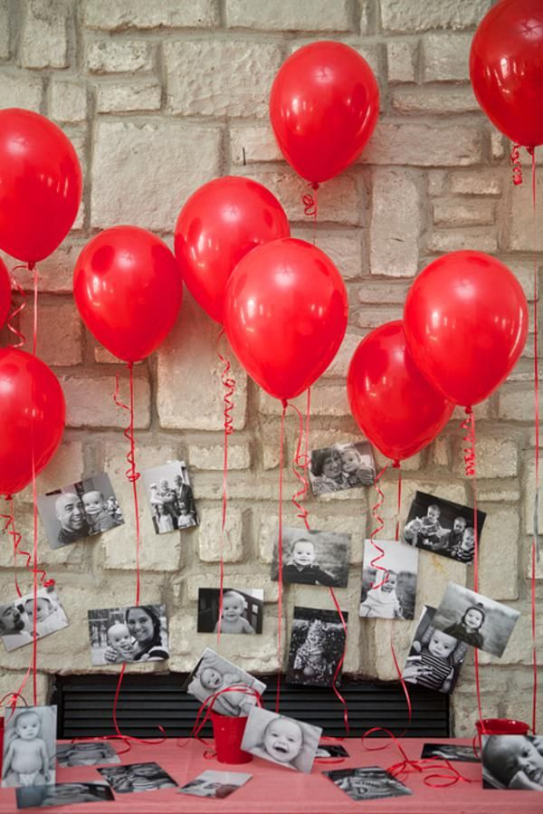 25 best ideas about red party decorations on pinterest for 1 birthday decoration ideas