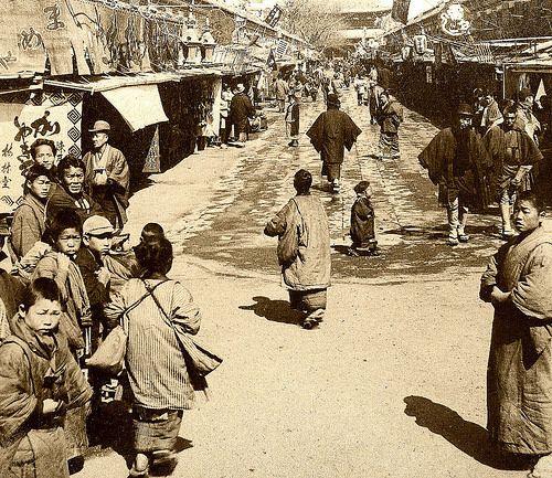 Asakusa Japan 1904   by dw*c