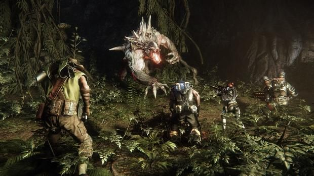 """Evolve"" looks awesome!  I want to be the monster so I can eat the guys I normally coop with!"