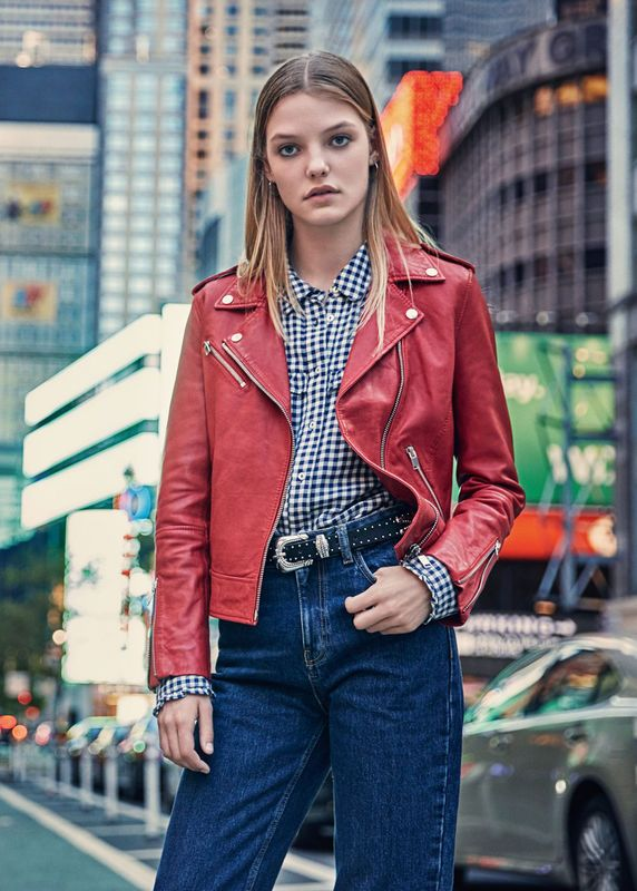 Moda: SKÓRZANE KURTKI - JESIEŃ 2016