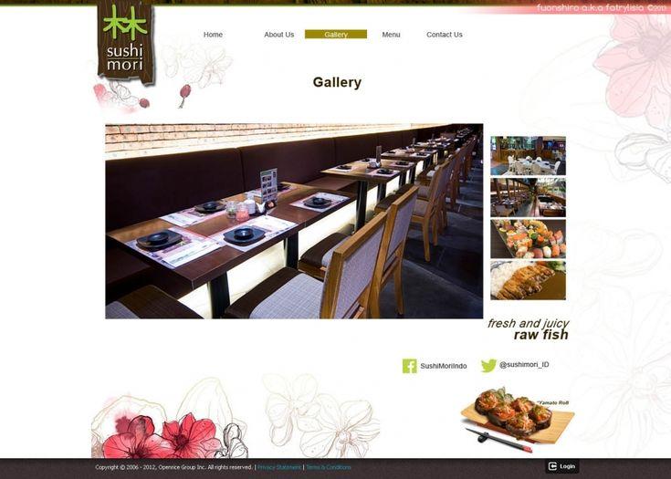 Web Design | Sushi Mori | Kreavi.com