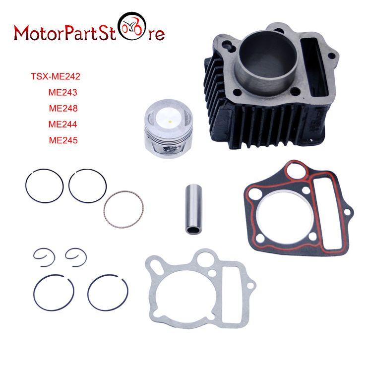 Cylinder Piston Ring Gasket Kit for Honda CRF70 CT70 TRX70 XR70 ATC70 S65 70cc Dirt Pit Bike ATV Quad Motorcycle Engine Part * #Affiliate