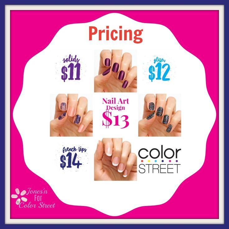 Color Street nail prices sale #colorstreetnails #colorstreet #shopcolorstreet #nailparty #manicure #mani #pedicure #pedi #diymani
