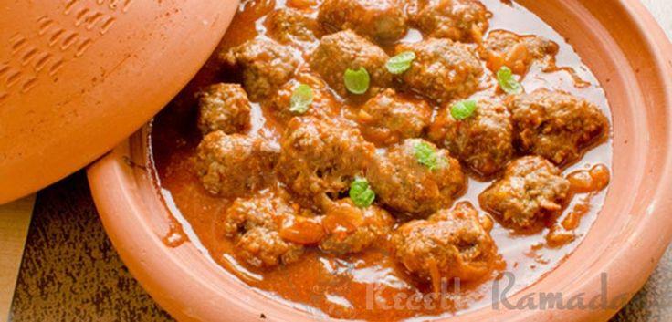 Le mois sacré du ramadan approche, il faut se préparer avec de délicieuse recette facile, rapide et surtout délicieuse. Cette recette de tajine aux boulettes de kefta sera un plat incontournable à préparer.