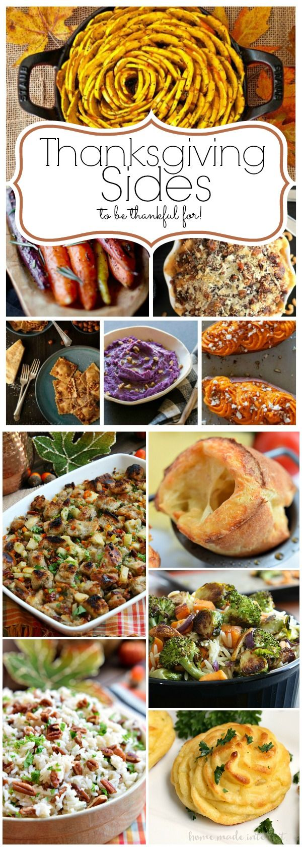 Thanksgiving Sides to be Thankful For
