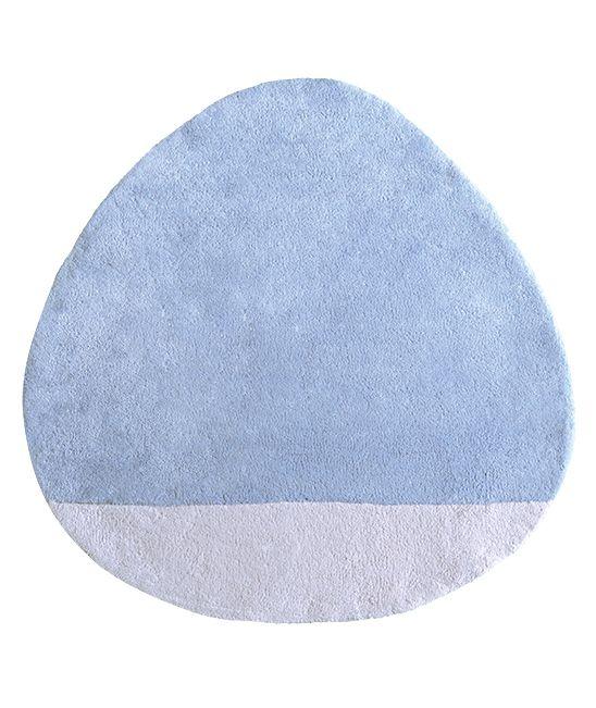 MiPetiteLife.es - Alfombra Lilipinso infantil stone celeste. Bi-colores y diseño de la alfombra. Alfombra Pequeño, todas únicas con formas originales. Para una suave y esponjosa para jugar o simplemente tumbarse espacio.De luz, los niños pueden moverse con facilidad para adaptarse a susnecesidades. Disponible en 8 colores armoniosos. Fabricación artesanal. Alfombra de algodón Fabricación : India www.MiPetiteLife.es