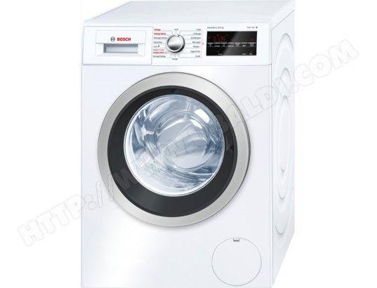 Le lave-linge séchant Wvg30461ff de BOSCH est doté de la classe énergétique A (13 % d'économies d'électricité par rapport à ...