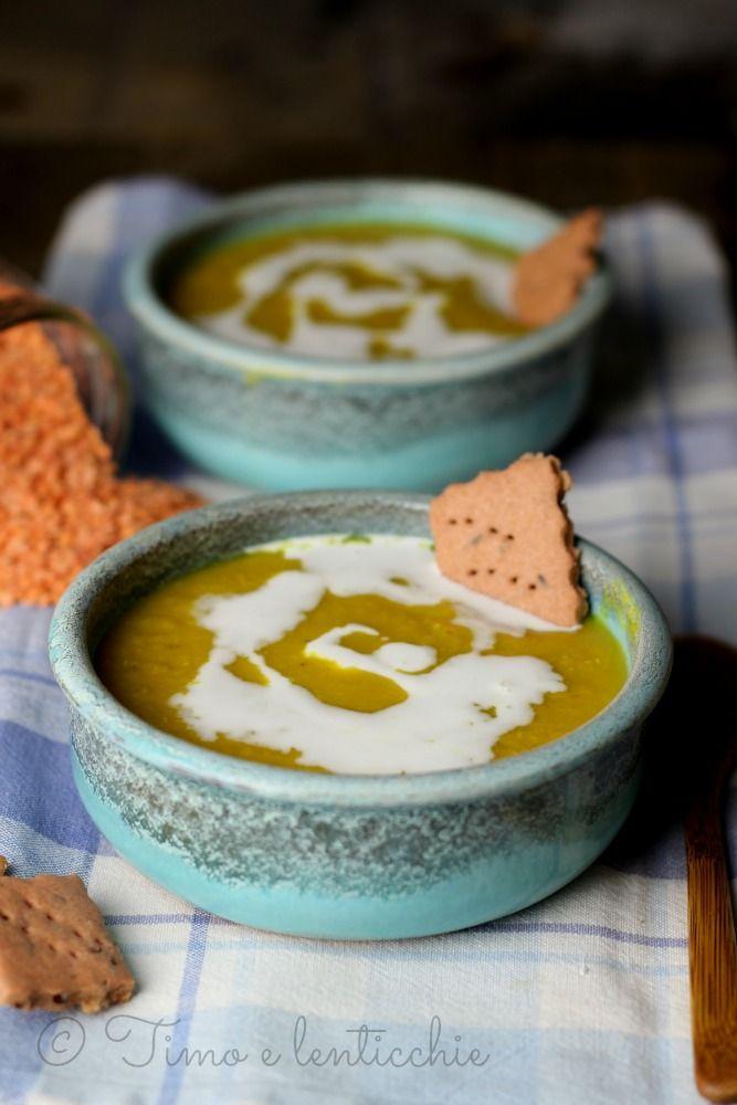 zuppa lenticchie e latte cocco http://blog.giallozafferano.it/timoelenticchie/zuppa-di-lenticchie-rosse-e-latte-di-cocco/