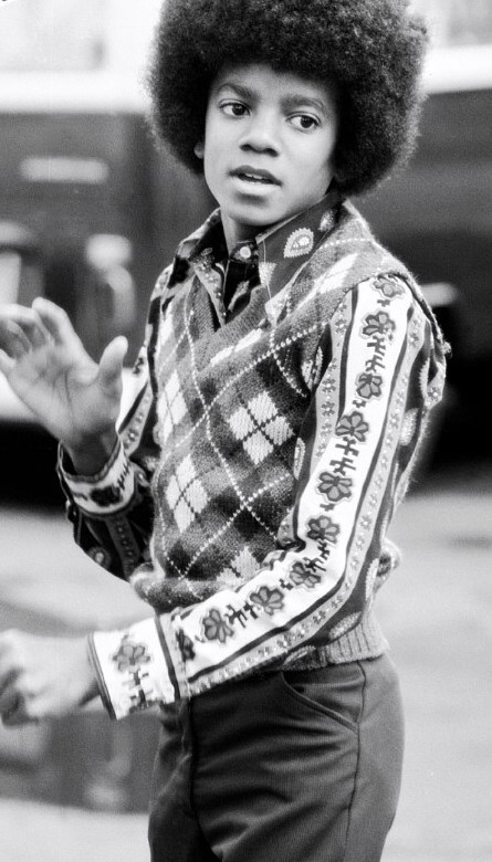 American recording artist Michael Jackson