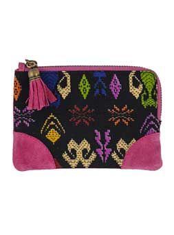 Schattige #portemonnee van #scmyk ! #wallet #pink #aztec #handmade