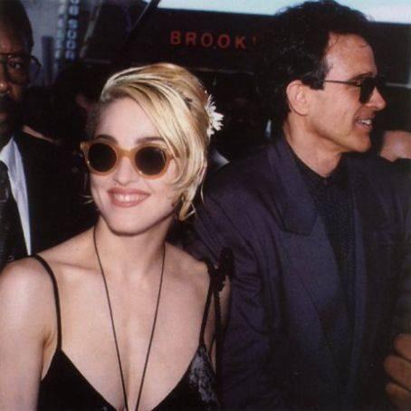 Madonna and Warren Beatty
