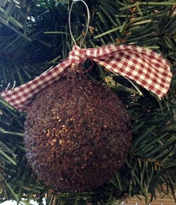 Primitive christmas ornament primitive by handmadesbyhelenk