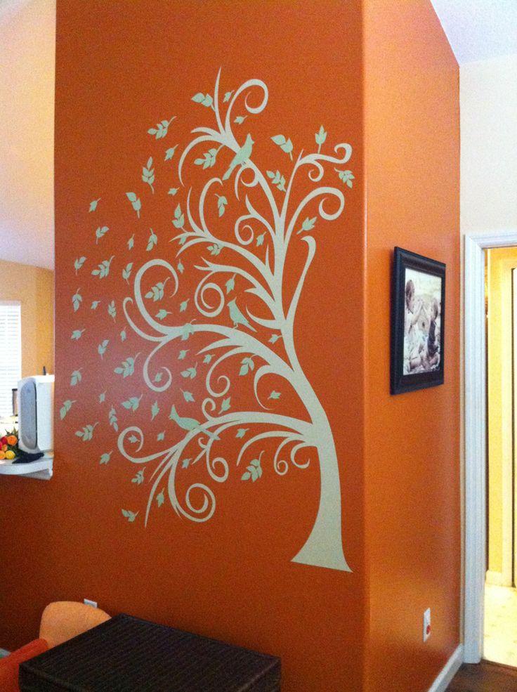 16 best couleur orange images on pinterest | orange walls, orange