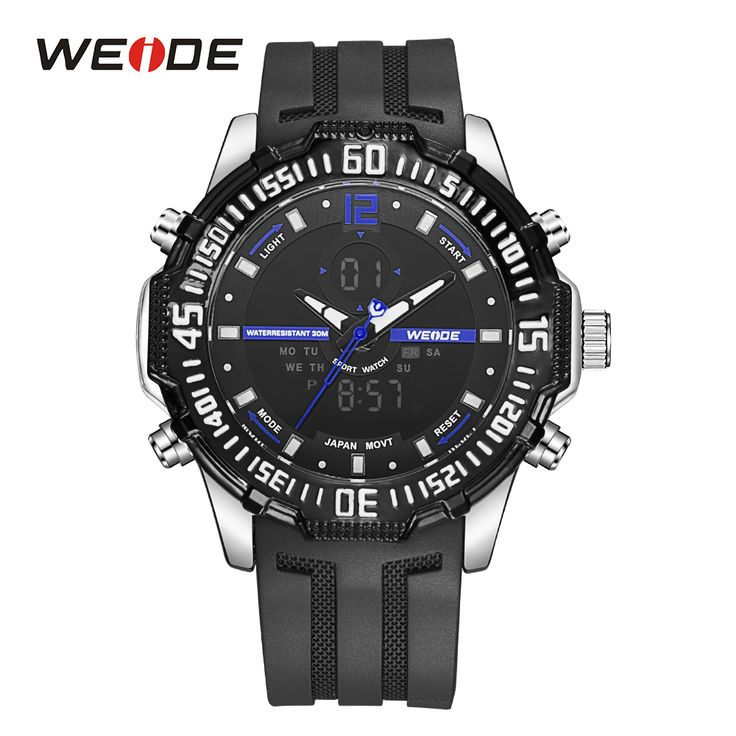 Like and Share if you want this  WEIDE Mens Digital Watch Alarm Date Stopwatch Back Light Day Dual Display Rubber Band Analog Quartz LCD Sport Wristwatches     Tag a friend who would love this!     FREE Shipping Worldwide     Get it here ---> https://shoppingafter.com/products/weide-mens-digital-watch-alarm-date-stopwatch-back-light-day-dual-display-rubber-band-analog-quartz-lcd-sport-wristwatches/
